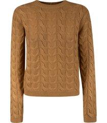 max mara braid knit sweater