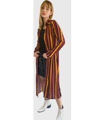 cardigan nrg multicolor - calce regular