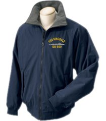 uss ringgold dd-500  direct embroidered portlander jacket..new
