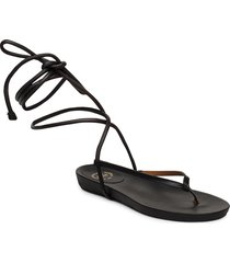 martano vacchetta shoes summer shoes flat sandals svart atp atelier