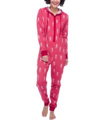 munki munki storm trooper hooded fleece union suit pajamas