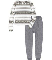pigiama (grigio) - rainbow