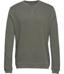 lars crew neck 11215 sweat-shirt trui groen samsøe & samsøe