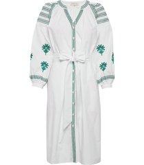 riley dress knälång klänning vit by malina