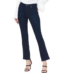 women's paige claudine high waist ankle flare jeans
