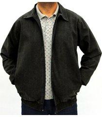 jaqueta pau a pique básica chumbo