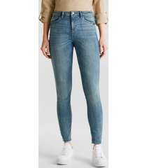 pantalón skinny medium rise denim esprit