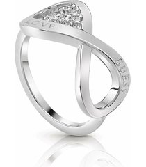 anillo guess endless love/ubr85004-56 - plateado
