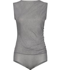 taylor body t-shirts & tops bodies grå wolford