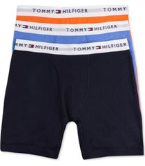tommy hilfiger men's cotton boxer brief 3-pack