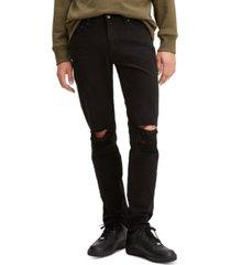 levi's men's 511 slim fit rip and repair jeans