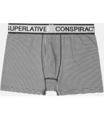 wesc men's franklin simple stripe boxer brief