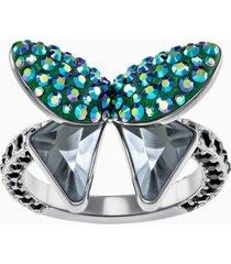 anello con motivo magnetized, multicolore