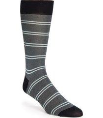 men's pantherella bird's eye stripe socks, size one size - blue