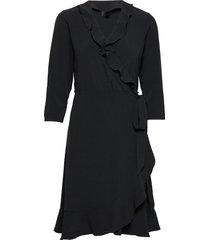 2nd elly dresses wrap dresses svart 2ndday