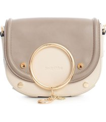 see by chloé rounded crossbody w/ring