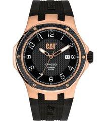 reloj negro cat navigo