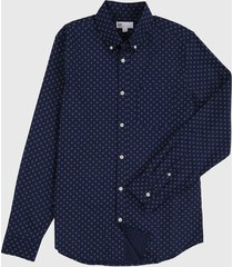camisa azul navy gap