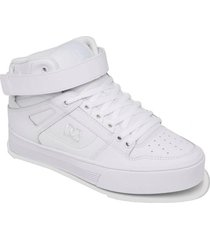 zapatilla pure high-top v j sh blanco dc