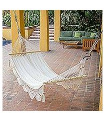 cotton hammock, 'montelimar sands' (single) (nicaragua)