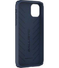 estuche protector ballistic soft jacket iphone 11 pro 5.8 - azul