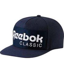 gorra azul reebok foundation cap