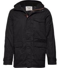 akmack jacket parka jas zwart anerkjendt