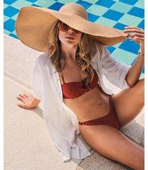 hunkemöller tanga-bikiniunderdel cali doutzen röd