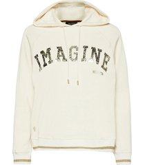 kash hoodie sweatshirt hoodie creme mos mosh