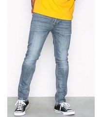 topman grey grippin taper jeans grey