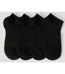 na-kd lingerie ekologiska strumpor - black