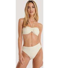 na-kd swimwear bikiniunderdel - white,offwhite