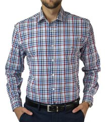 camisa trevira clasica escoces regular fit mcgregor