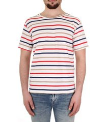 t-shirt korte mouw bicolore 13-