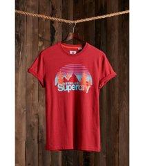 superdry classic logo wilderness men's t-shirt