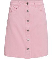 jeanskjol onlfarrah color denim skirt