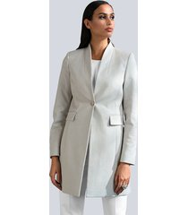 blazer alba moda offwhite::crème