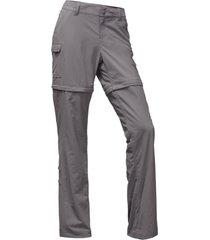 pantalon paramount 2.0 convertible gris the north face