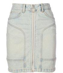 off-white bleach pocket details skirt
