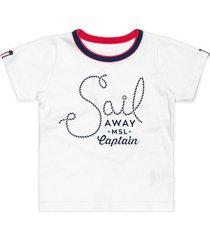 camiseta marisol - 10316689b - branco - menino - dafiti