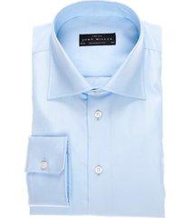 john miller shirt normale mouwlengte babyblauw