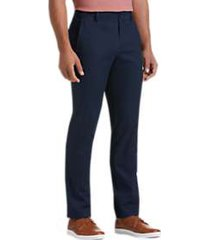 joseph abboud dark blue slim fit chino