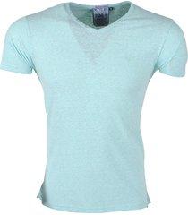 mz72 heren t-shirt toocolor snow mint groen