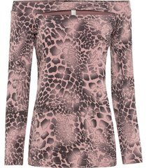 maglia con spalle scoperte (rosa) - bodyflirt boutique