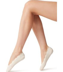 calzedonia no show socks woman ivory size tu