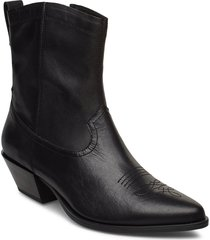 emily shoes boots ankle boots ankle boots with heel svart vagabond