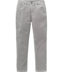pantaloni in velluto elasticizzato regular fit (grigio) - bpc selection