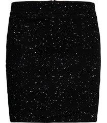 skirt ripa deep space kort kjol svart dedicated