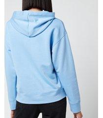 a.p.c. women's hoodie lyn - blue - l