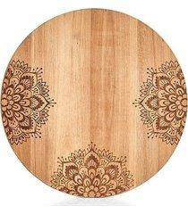 deska kuchenna drewniana okrągła akacja